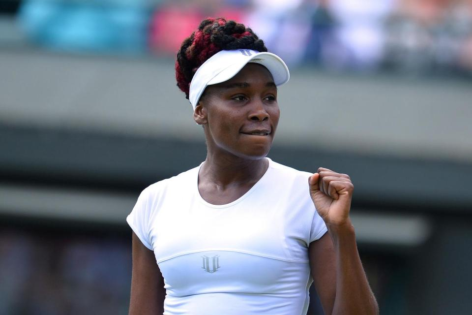Venus Williams is back in the #Wimbledon quarterfinals for the first time since 2010. Read: https://t.co/8759nDUdBj https://t.co/En0ccqiQ8F
