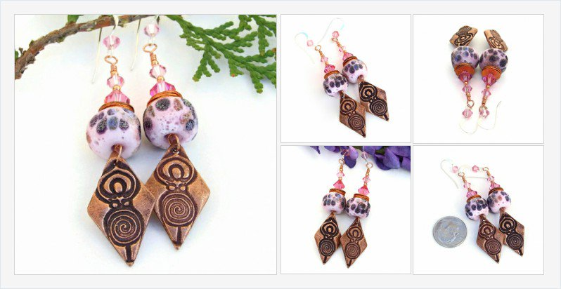 Know a #goddess? She needs beautiful #spiral goddess #earrings! #cpromo https://t.co/N5UuxynWoV https://t.co/xeWzke6gbM