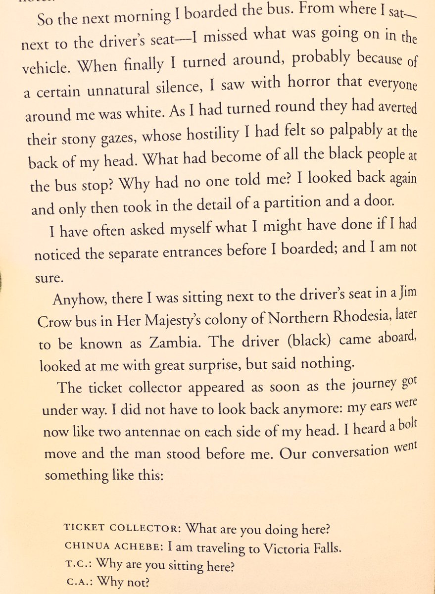 Christian Ghostwriting Services Tolu Ogunlesi On Twitter This From The Essay Traveling White By Chinua  Achebe In Which He Boards A Bus To Victoria Falls In Oct   Research Report Wrting Companies also High School Vs College Essay Compare And Contrast Tolu Ogunlesi On Twitter This From The Essay Traveling White  High School Entrance Essay Samples