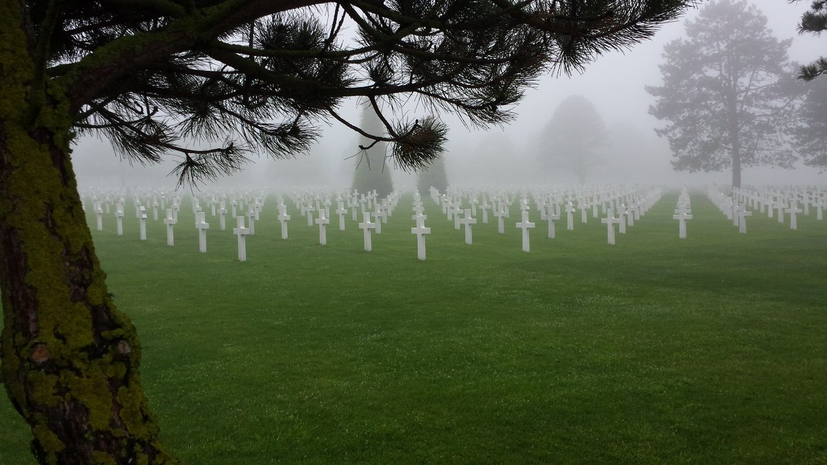 A reminder that freedom isn't free. RIP those who sacrificed their lives and thanks to all those in