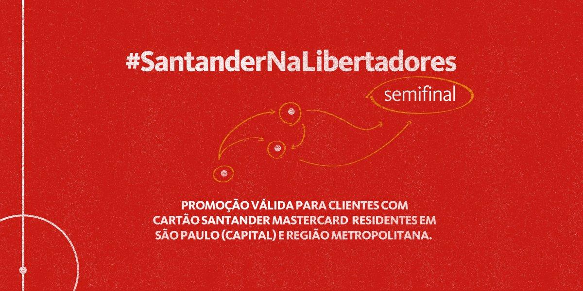 Quando este tweet atingir 800 RTs, liberaremos ingressos para #SAOxANA! VALENDO! #SantanderNaLibertadores https://t.co/lKaYkRoTtp