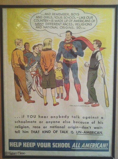 My favorite 4th of July thing so far today. Tell it, 1950s Superman! https://t.co/9riGLrwcAQ