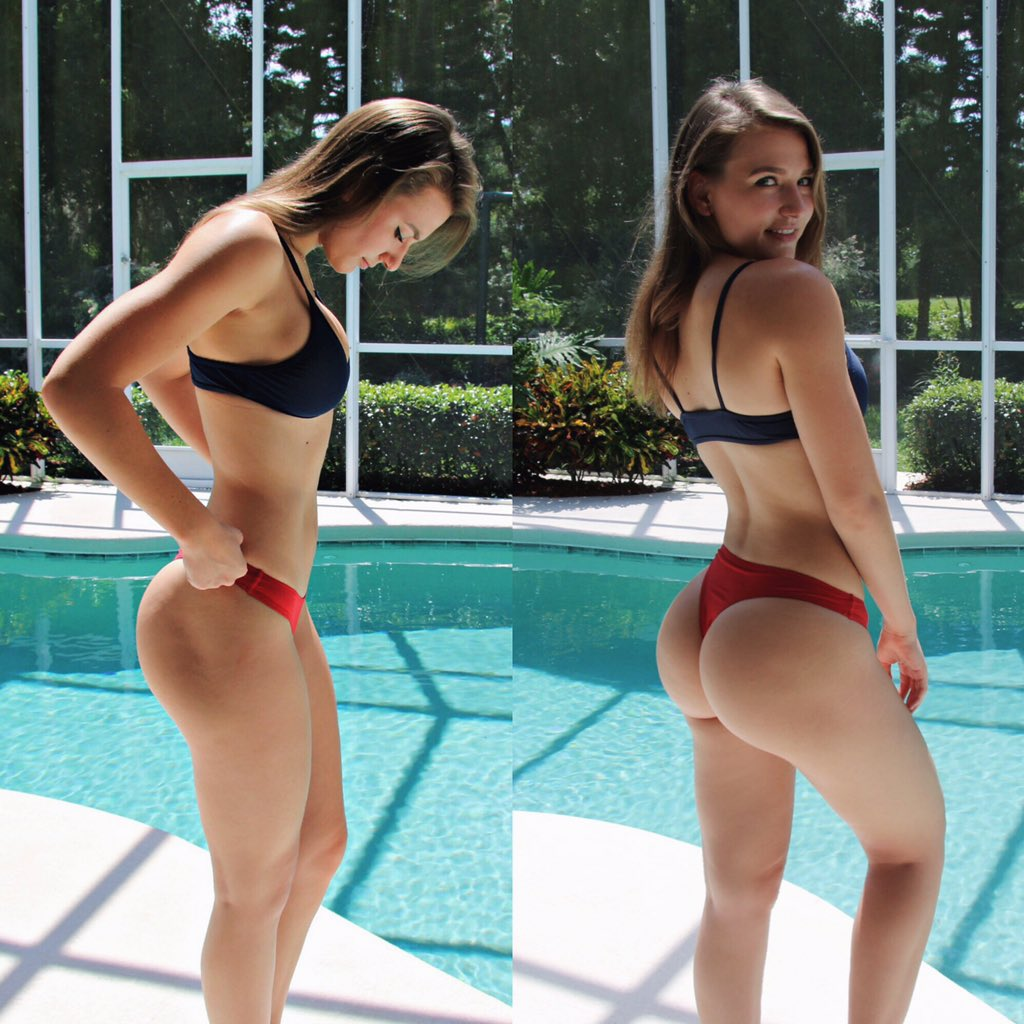 Thick white girl pale ass sexy booty twerk ameman 8