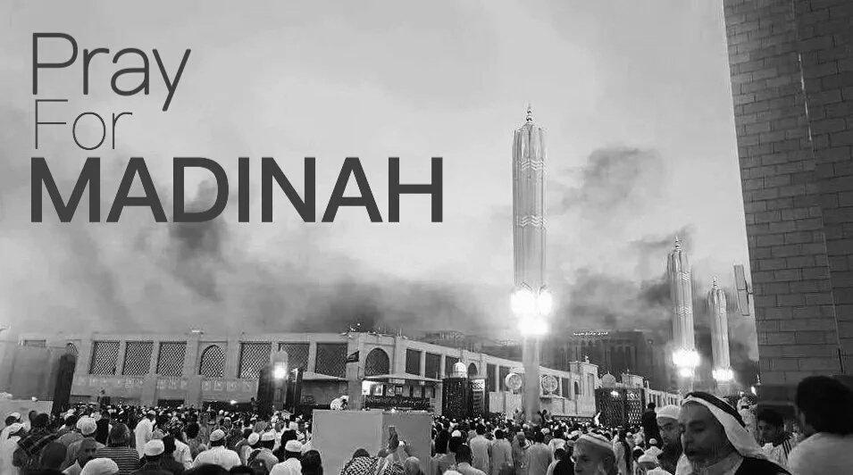#PrayForMadinah Terkutuklah bagi orang-orang yang merencanakan, mendanai, dan melakukannya. Sungguh biadap! https://t.co/wlgugJFySj