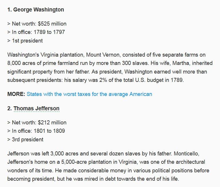 Ben Norton On Twitter The Salary Of Plutocratpresident George
