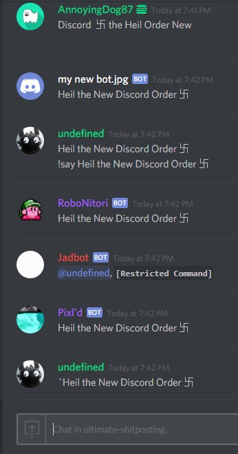 Discord on twitter ban the bots dont allow users to add bots to discord on twitter ban the bots dont allow users to add bots to your servers ccuart Choice Image