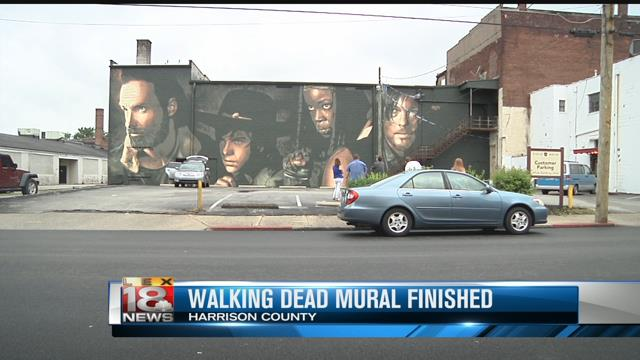 Cynthiana latest news breaking headlines and top stories for Mural walking dead