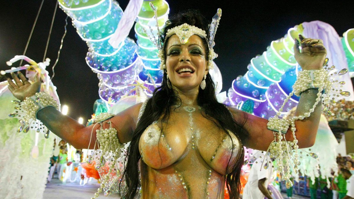 Brazil s carnival party