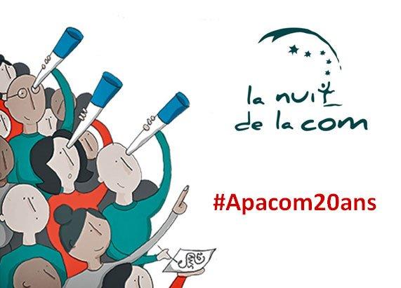 Pour ce soir ! #Apacom20ans https://t.co/HkH4MnHtvv
