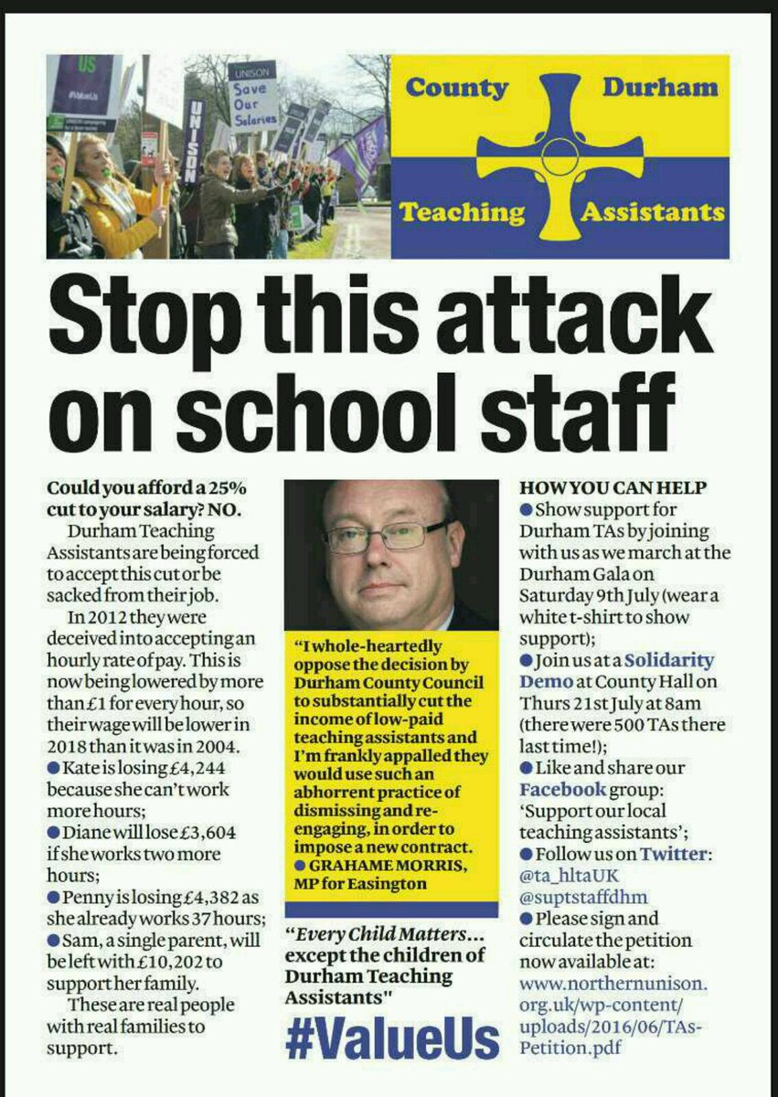 @MichaelRosenYes this is how my kids' TAs are being treated, forced sacking and rehiring on worse terms. So sad. https://t.co/6oB7yuQT83