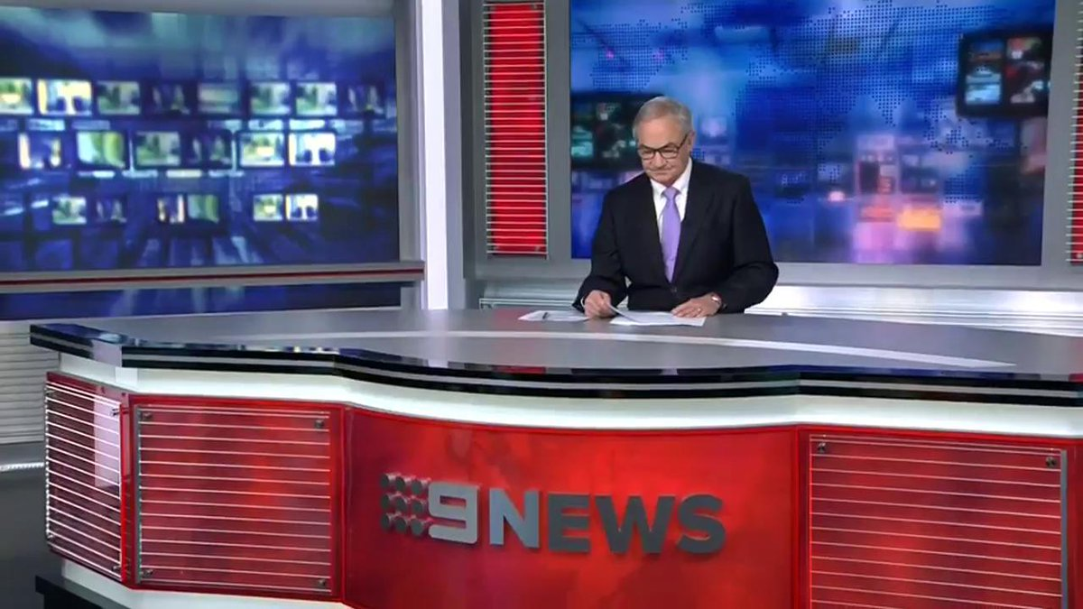 LIVE NOW: Rob Kelvin presents the local #9News bulletin at