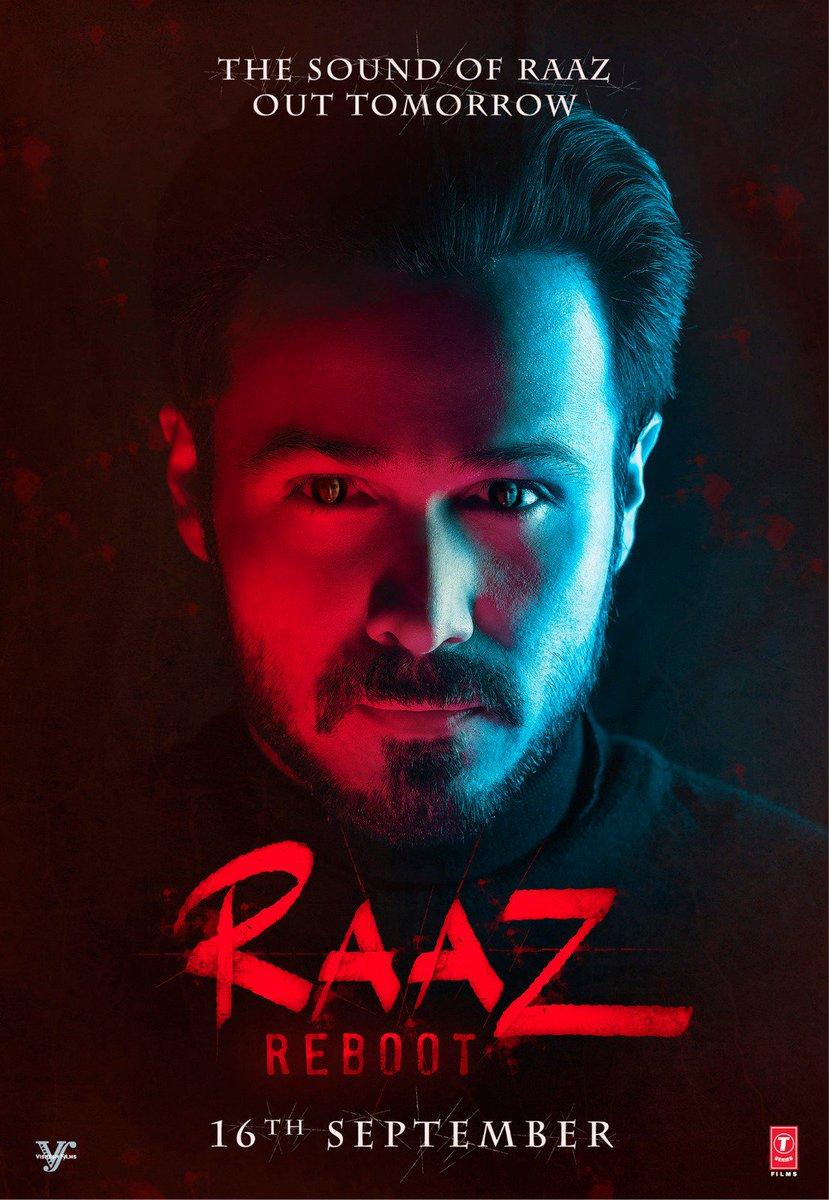 Raaz Reboot Poster starring Emraan Hashmi, Kriti Kharbanda