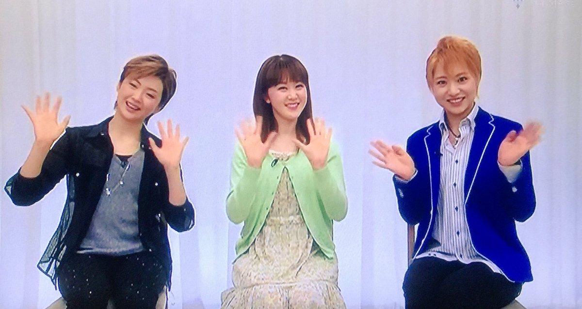 """ぴ( ・θ・) di Twitter: """"翔け!すみれんずの長野県出身同期トークが ..."""