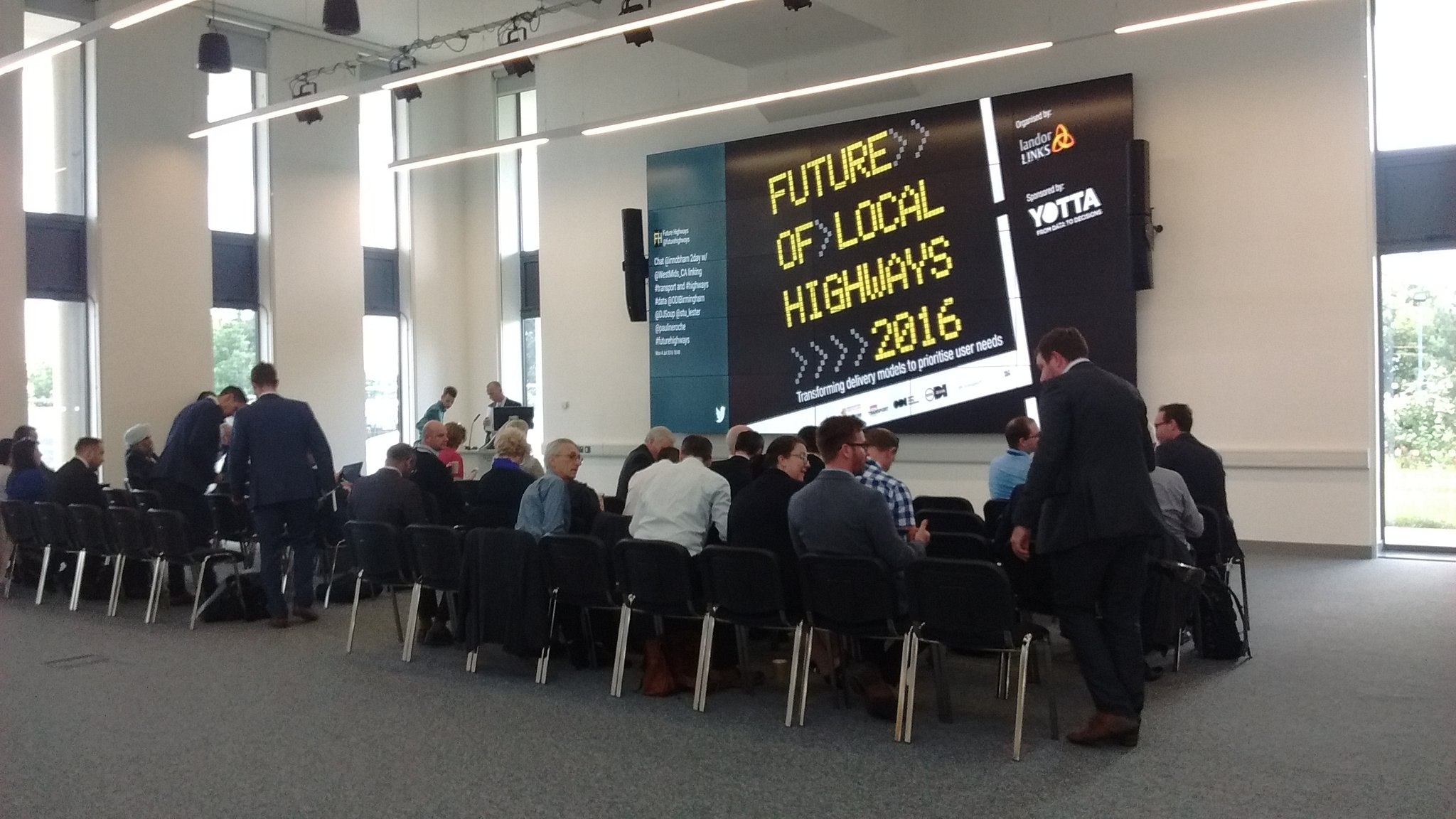The #FutureHighways conference begins. https://t.co/Ybpt6URfzK