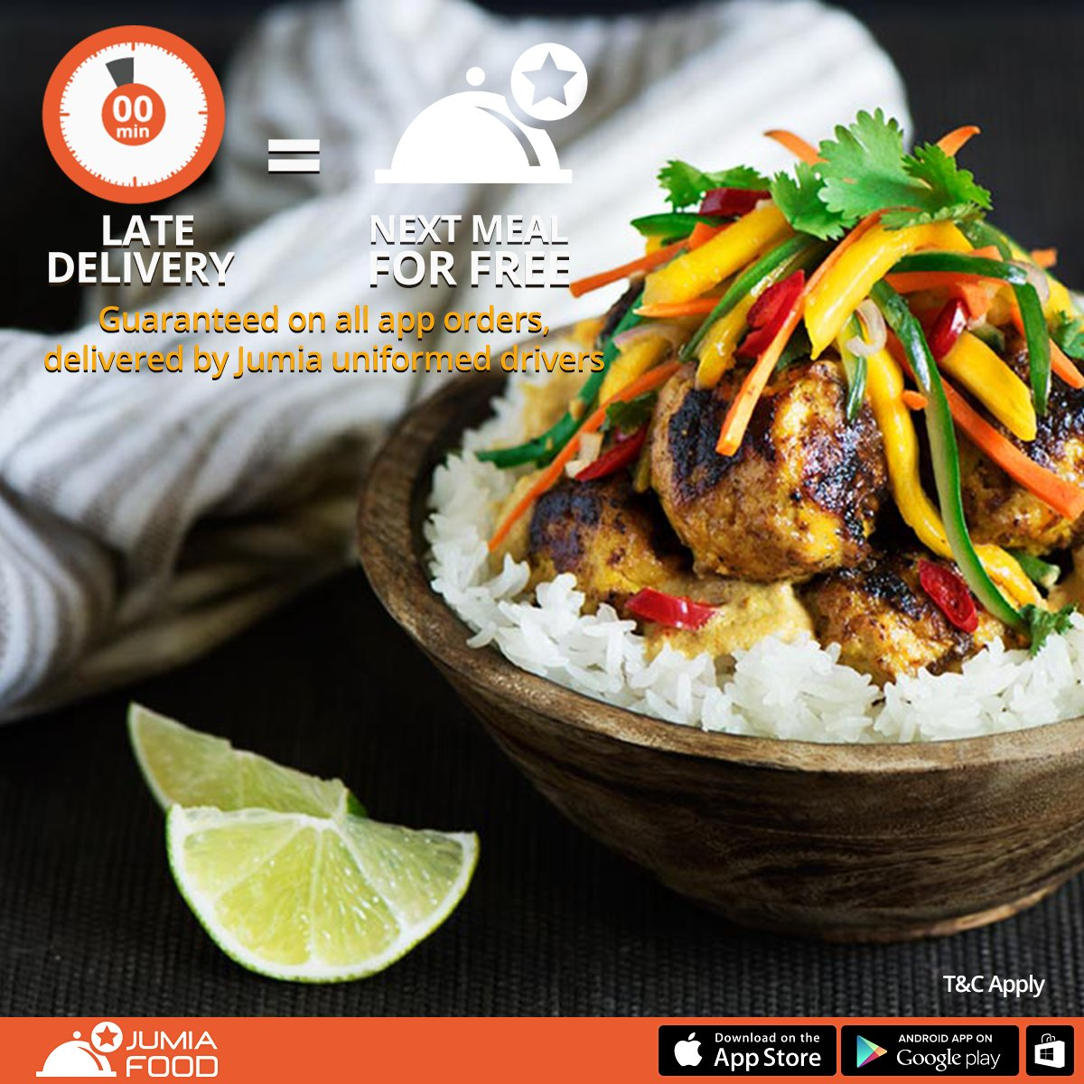 Jumia food nigeria on twitter we value your time late delivery jumia food nigeria on twitter we value your time late delivery free meal voucher on jumia food app orders only t c apply forumfinder Image collections