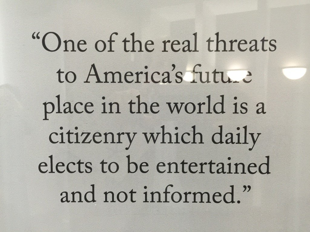 Great quote by George Gallup re. American citizenry.  Apropos. https://t.co/aUG0PIIsXB