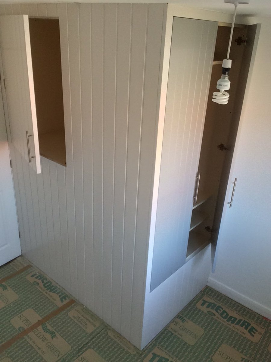 Warrington cabinets on twitter fitted wardrobe for Box over stairs bedroom ideas