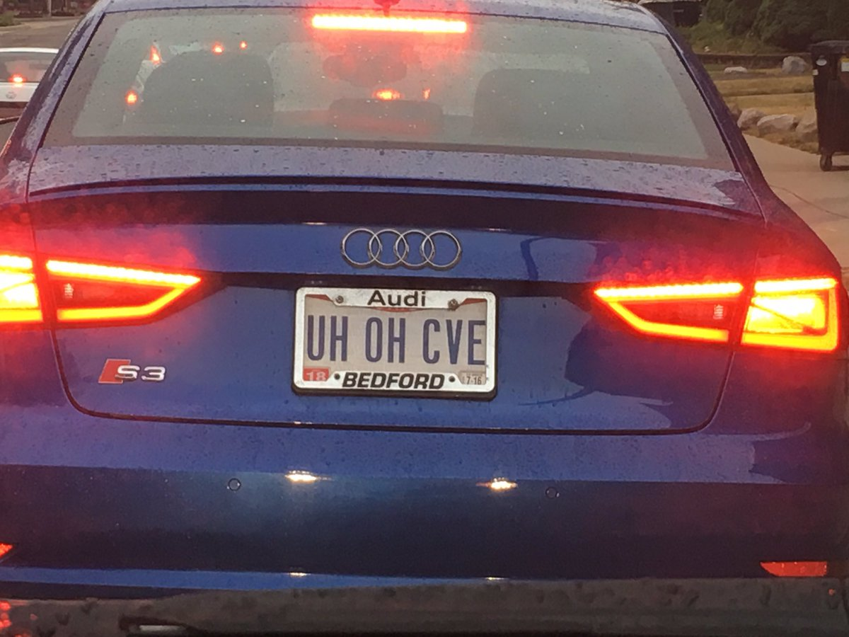 Alright. Which one of you jokers drives this?! #Infosec https://t.co/b5cbQwu2vX