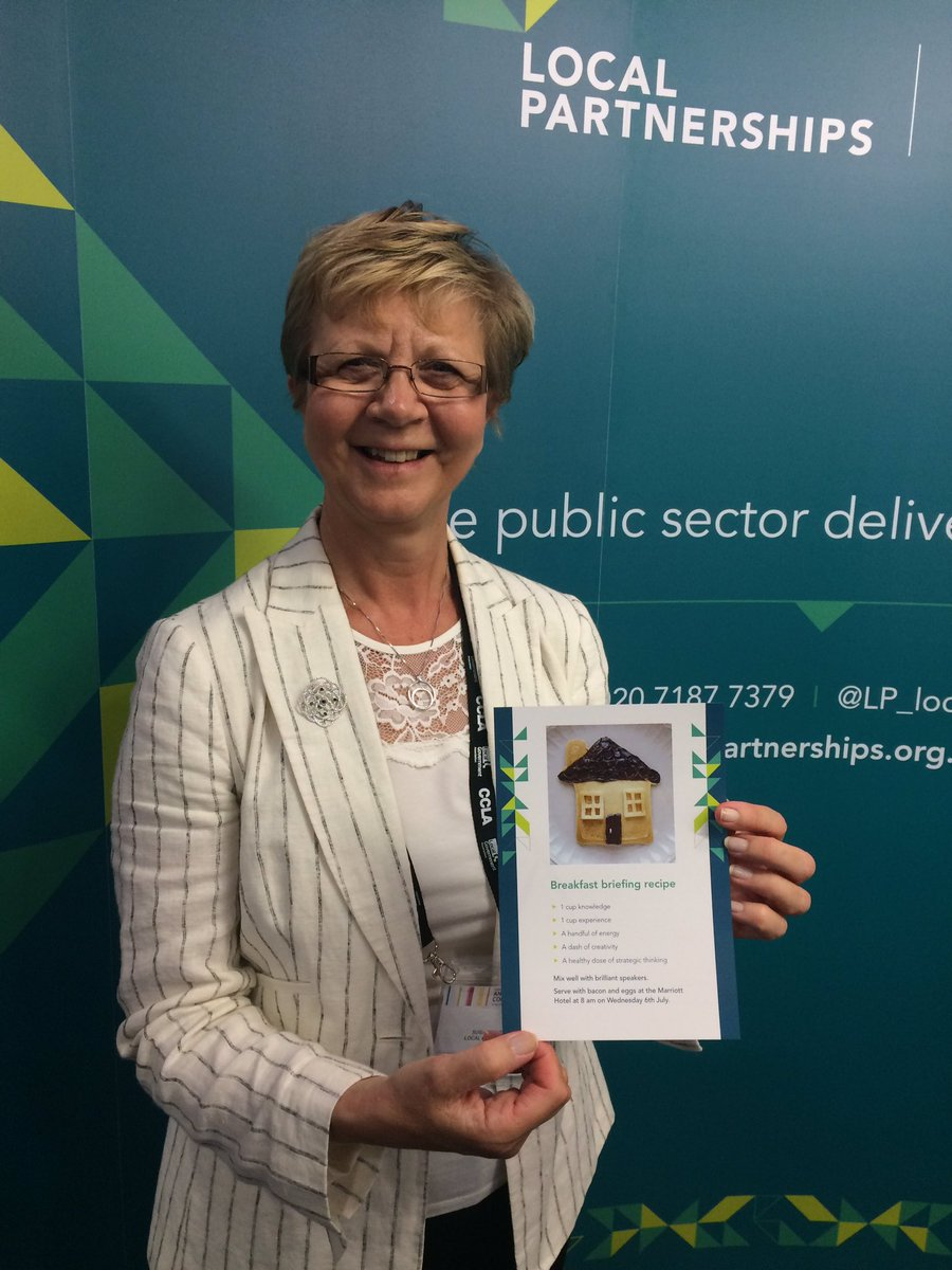 Board member @SusanJohnson_57 invites you to join us for a Housing bfast #LGAConf16 on 6 July at Marriott @ 8am!