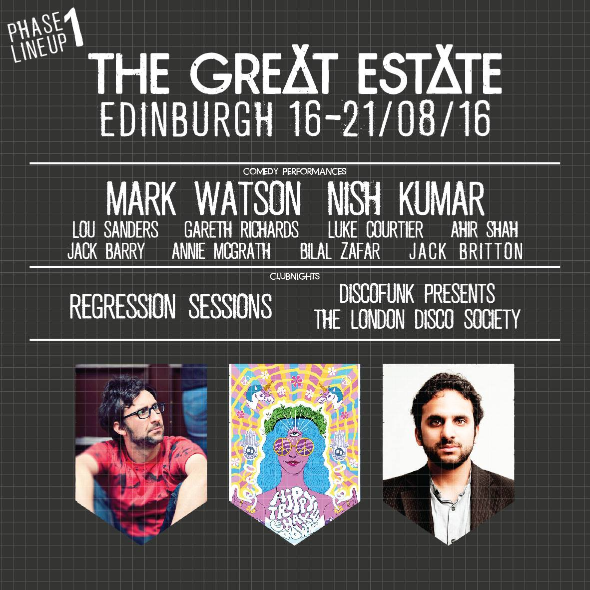 We're delighted to be a part of this year's @The_GreatEstate in Edinburgh, 16-20 Aug! Tix: https://t.co/TQrTNYbj0v