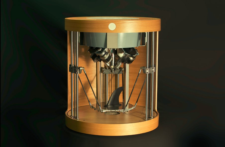 #Steampunk-ish Awesome of the Day: #3D Printer 'Pam' by French Firm @PollenAM via @ImagingOrg #SamaCuriosities