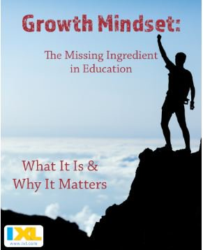 Guest Blog: The Missing Ingredient in #Education https://t.co/HI6a55Rm7o #GrowthMindset via @IXLLearning https://t.co/gzii9KxyZw