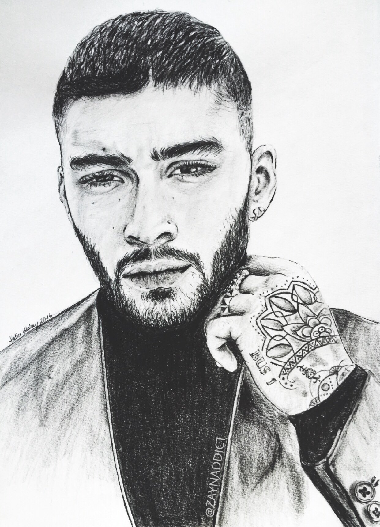 hatice on twitter quotlook at my new drawing zayn