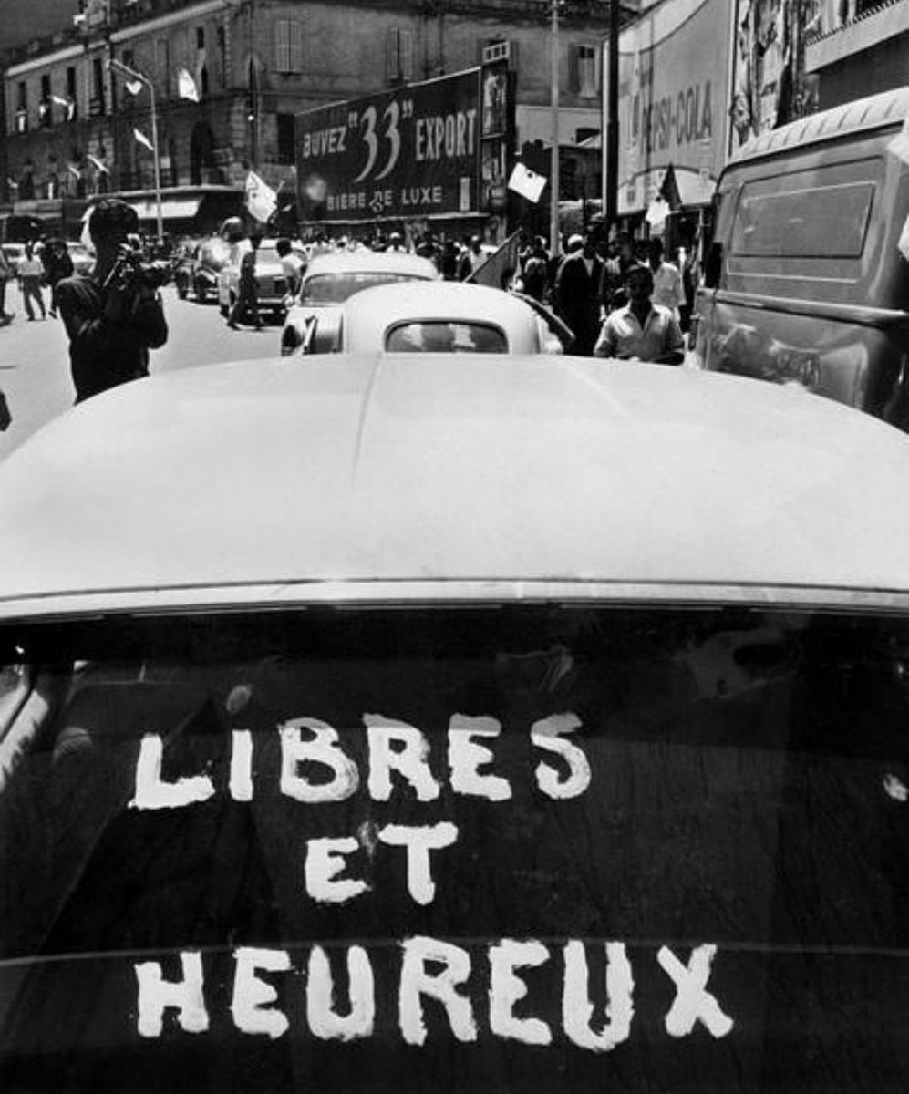 Free and happy. #5juillet1962 <br>http://pic.twitter.com/6GbvHtohXn