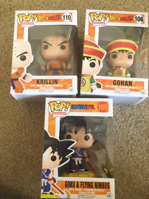 Thank you SO much @Jfanol27 for the early bday gifts! You fucking rock!! ?❤️? #FunkoSlut #DragonBall