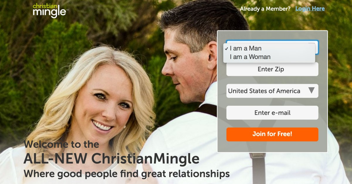 Christian dating sites in america