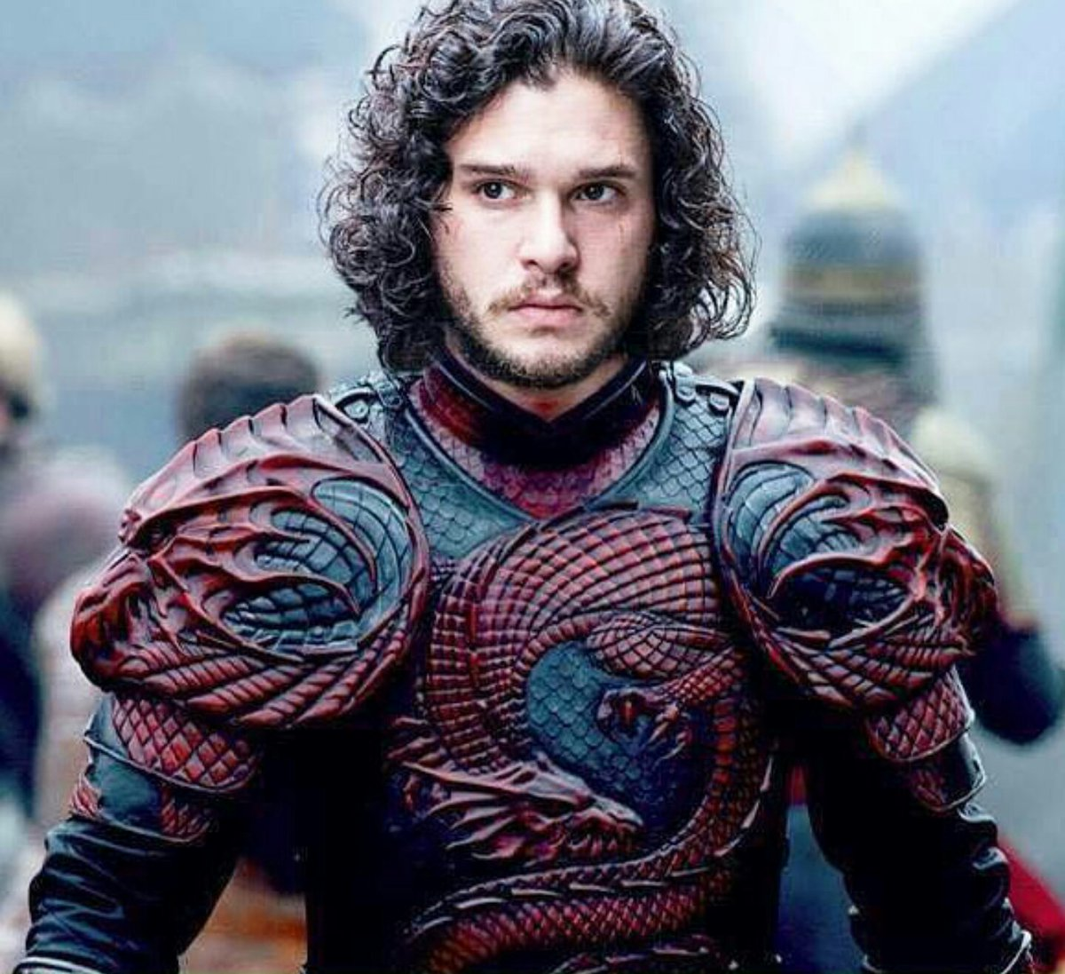 "Tyreece John Jules Wallpaper: Winter Is Coming On Twitter: ""Jon Snow In Targaryen Armor"