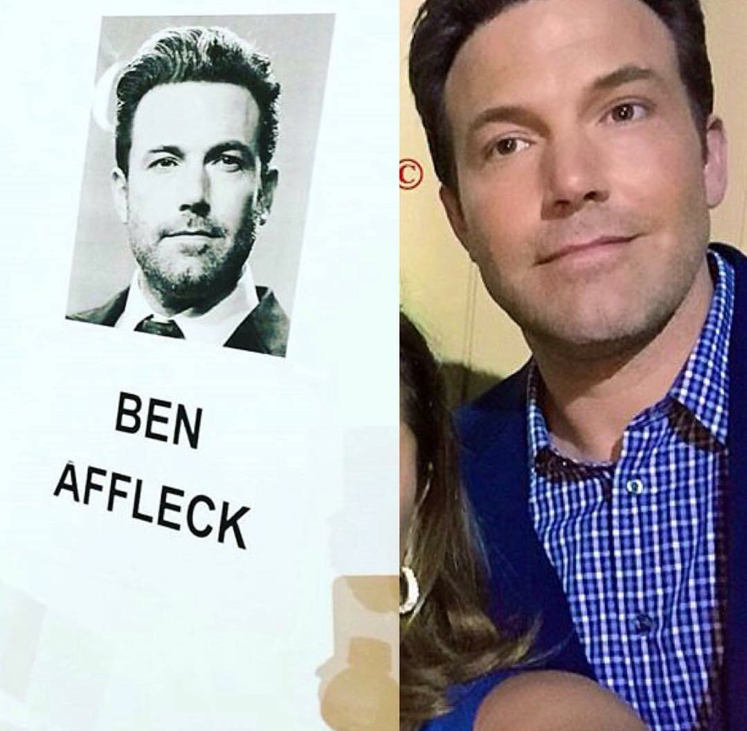 Ben Affleck at the spikes guys choice awards (2016)