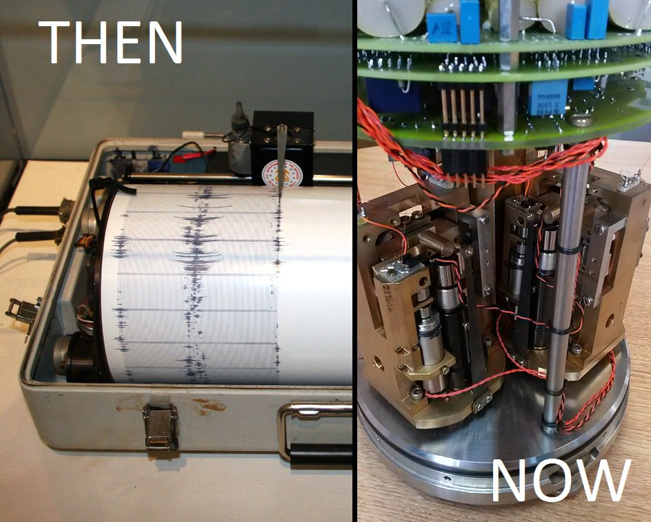 Image Gallery Modern Seismograph
