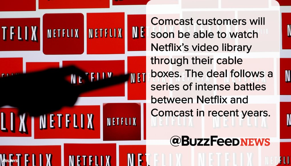 Netflix Will Soon Stream on Comcast's X1 TV Platform | Baaz