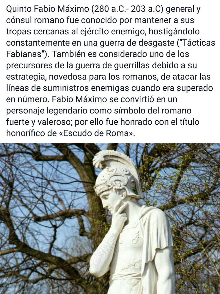 Iker Ormazabal on Twitter Sobre Fabio Mximo y las Tcticas