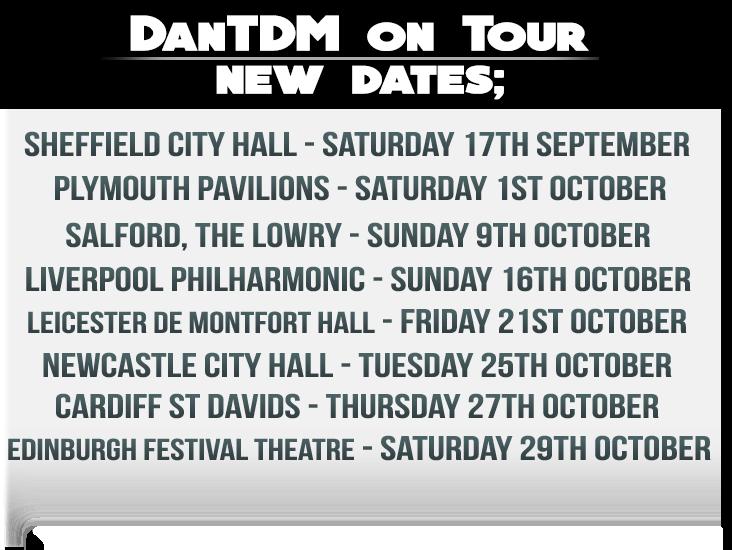 Dantdm Tour Usa  Tickets