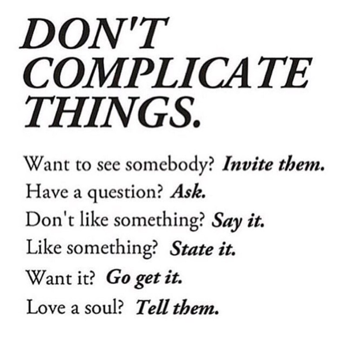 Don't Complicate Things! https://t.co/njvseDSc85