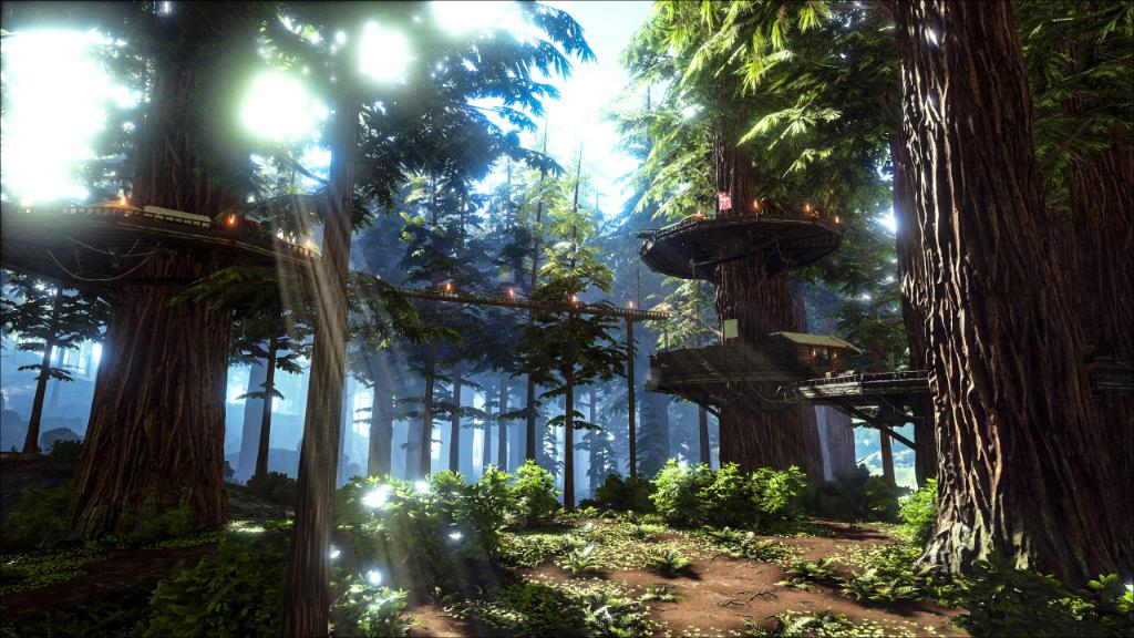 Picture of: Xbox على تويتر Live That Treehouse Life With The New Redwood Biome Dlc For Ark Survival Evolved M Https T Co Ecegxcscar