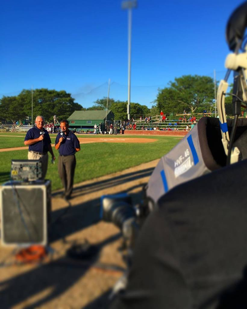 Eric Frede and Ken Ryan voice the open as #cotuitkettleers visit #chathamanglers on #foxcollegesports. Tonight star…
