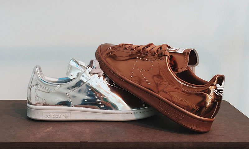 check out 959b6 f3fc0 promo code for sneaker shouts on twitter 120 off the raf simons x adidas  stan smith