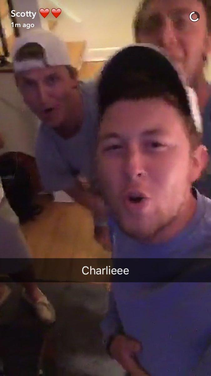Scotty mccreery snapchat