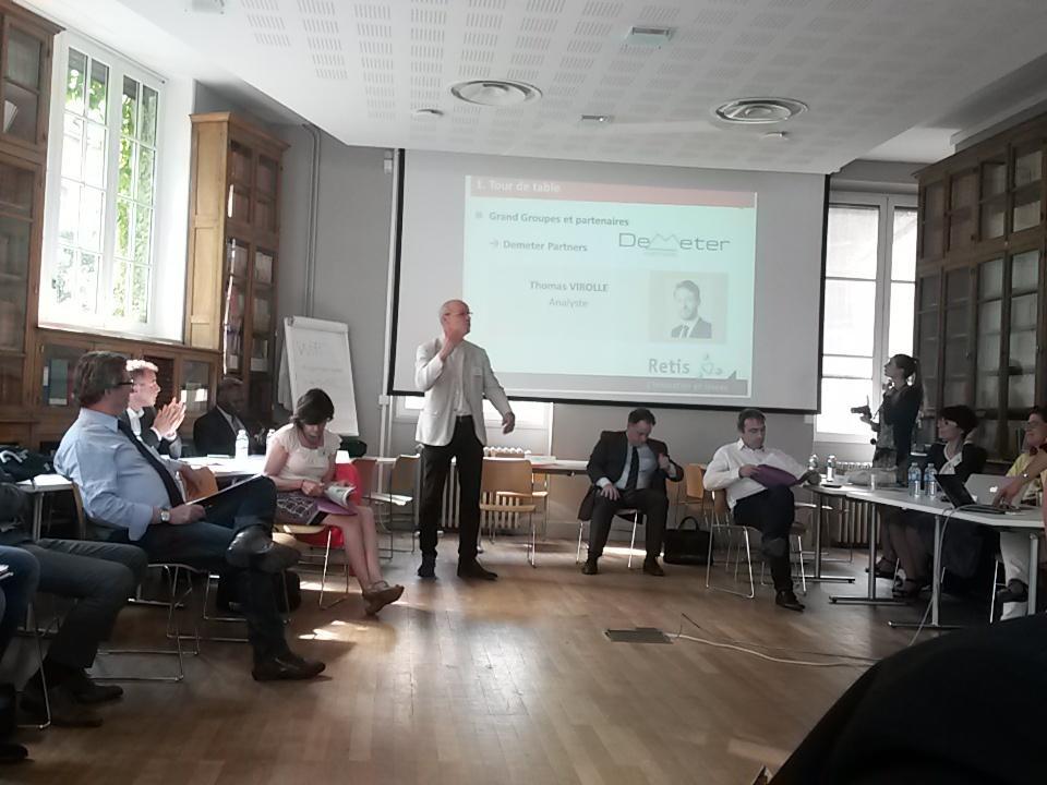 @kitewinders et @GazelleTech #startups  à la rencontre d'investisseurs aux Ecomasters Class @RetisInnovation
