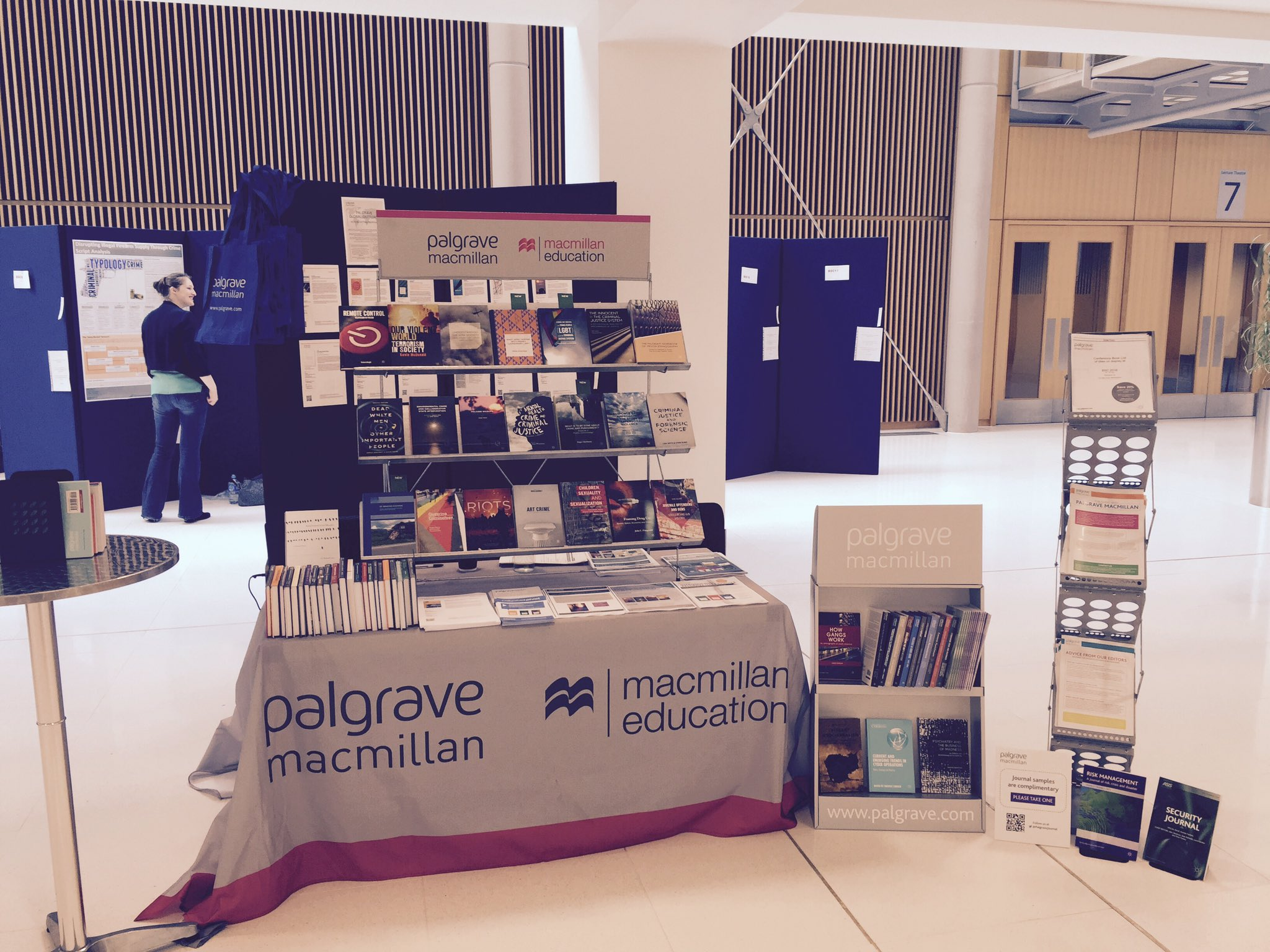All set! What sessions are delegates looking forward to today? #palgrave #BSCConf16 https://t.co/fttHA3WvET