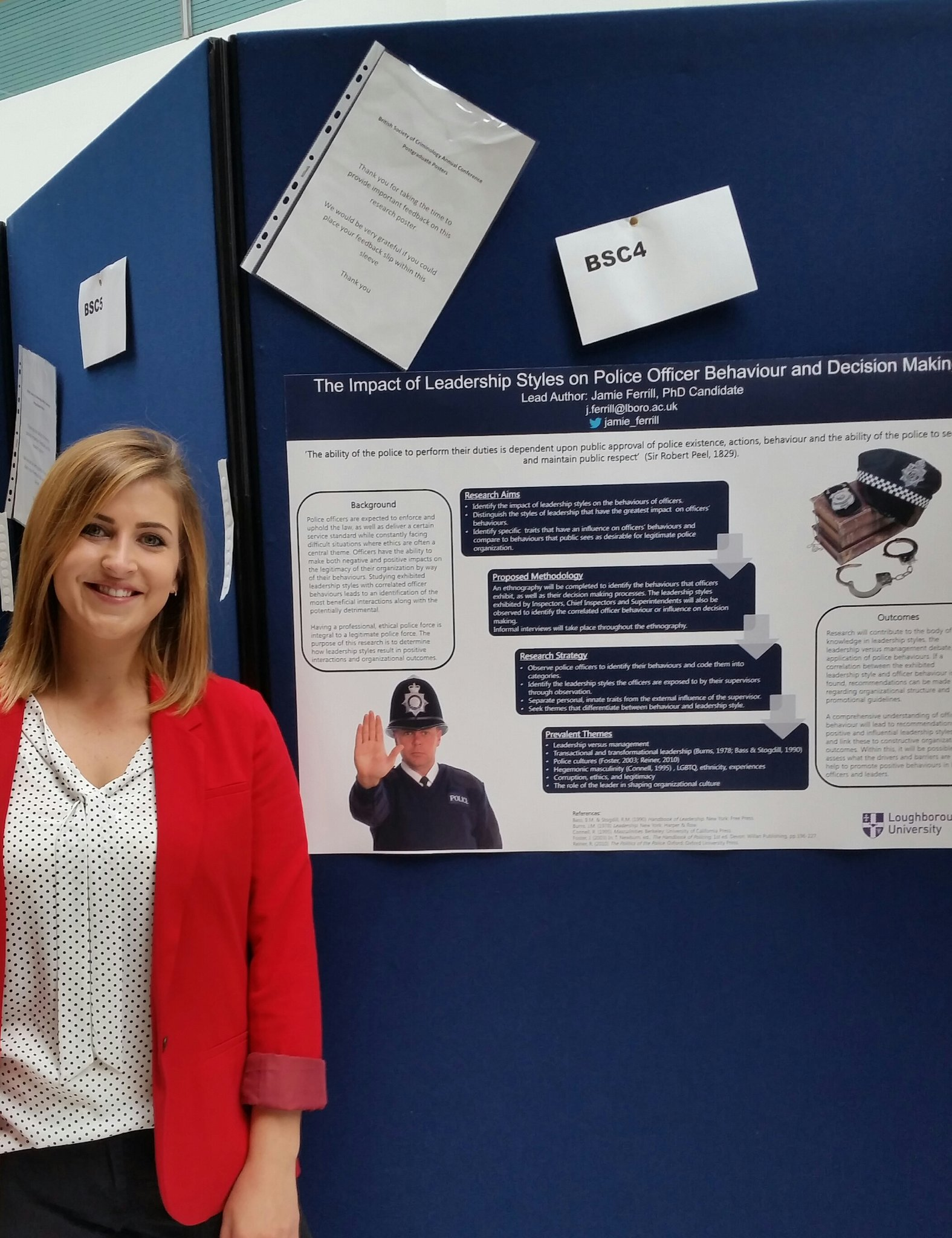 Posters are up! #BSCConf16 @LboroSocSci @BSCPG1 @BSCPolicingNet #police https://t.co/WKZBERslHO
