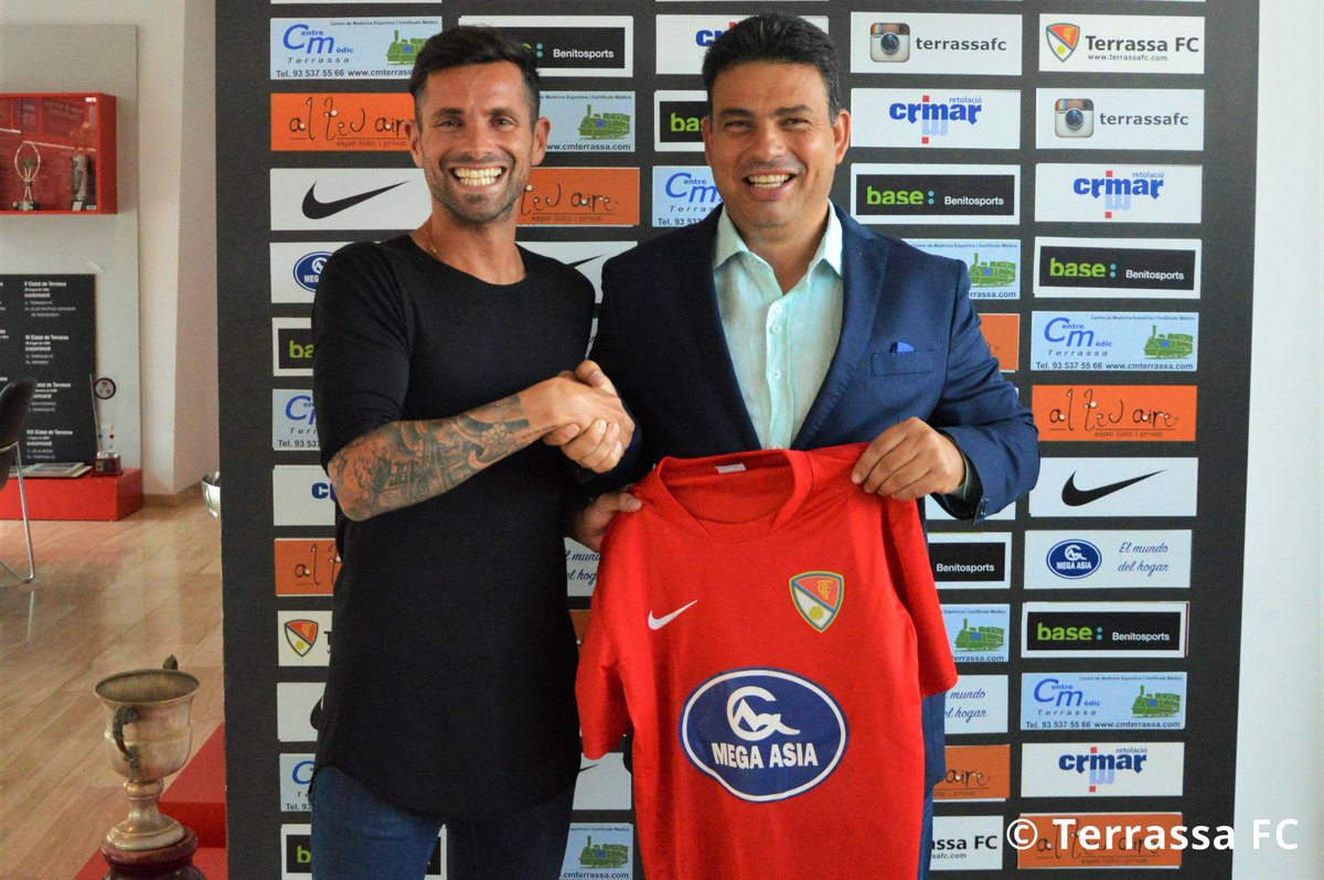 BOMBA! Cristian García de Segona A i ex @CDTOficial fitxa pel @TerrassaFC! https://t.co/iC5KxBQPzk #batecterrassenc❤ https://t.co/Y8sMeJCQIB