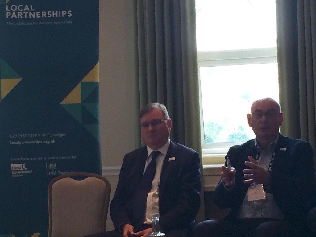 """quality skills &importance of role of housing assocs"" says Richard Clark at #housing business bfast #LGAConf16"