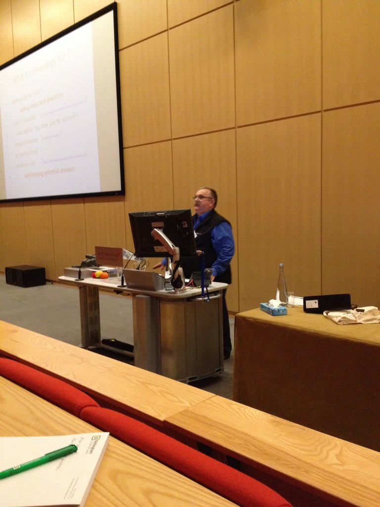 @PSqCriminology President of @BritSocCrim asks what is criminology for? #BSCConf16 https://t.co/3slbMgEFn3
