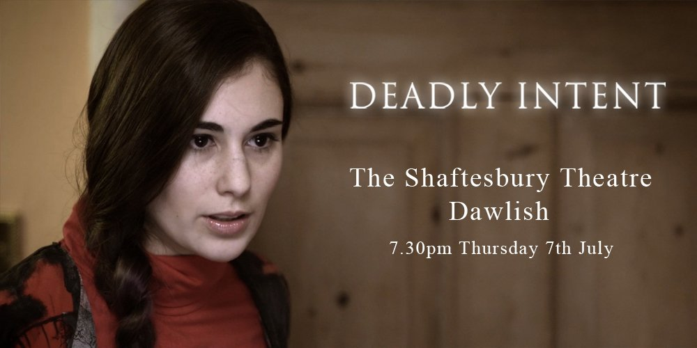 #supportindiefilm #paranormal #thriller Deadly Intent screening at The Shaftesbury Dawlish https://t.co/LRU6kE9sbp