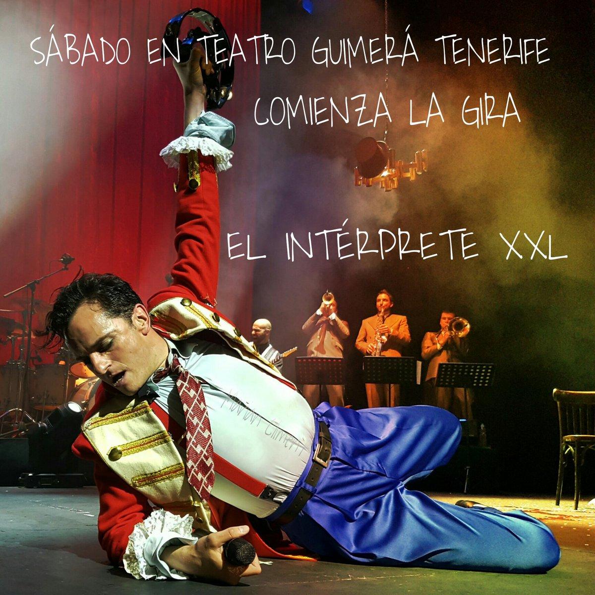'El Intérprete XXL' de @asieretxeandia inicia gira en @Teatroguimera sábado 9 de julio https://t.co/lsrqZtWmrg https://t.co/lNGYhrkLj2