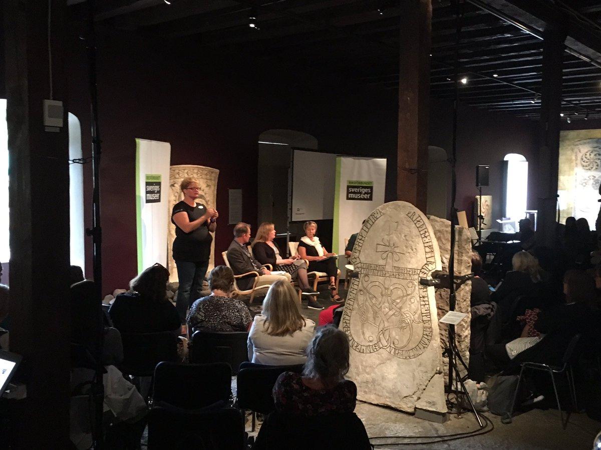RT @mats_persson: Många deltagare på vårt(RSM) seminarium Framtidens museum om museernas samhällsroll. #museersroll #kultalm16 https://t.co…